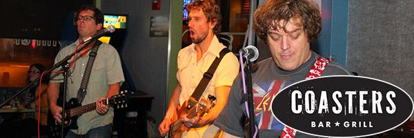 Los Karaoke Boys rocking out at Coasters