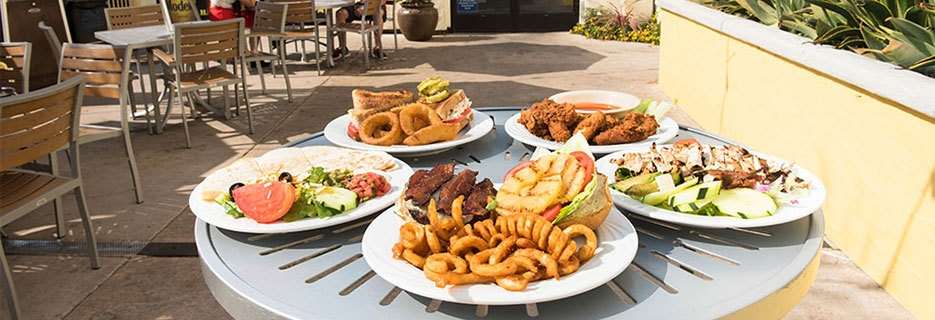 Coasters Food Selection on the Patio